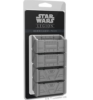 Star Wars Legion Barricades Pack Exp Utvidelse til Star Wars Legion