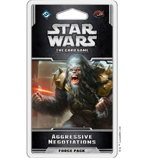 Star Wars TCG Aggressive Negotiations Utvidelse til Star Wars Card Game