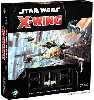 Star Wars X-Wing Core Set 2nd Brettspill Second Edition
