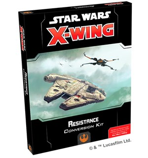 Star Wars X-Wing Resistance Conversion K Bruk Resistance fra First Edition