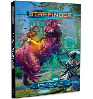 Starfinder RPG Pact Worlds Roleplaying Game - Regelbok