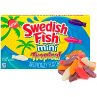 Swedish Fish Mini Tropical - 99g