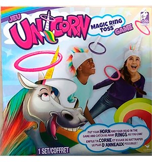 Unicorn Magic Ring Toss Brettspill
