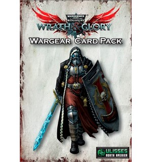 Warhammer 40K RPG Wargear Card Pack Wrath & Glory
