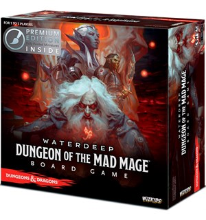 D&D Waterdeep Mad Mage Premium Edition Dungeons & Dragons Ferdig Malte figurer