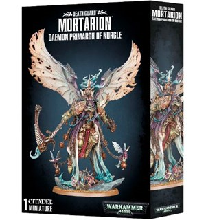 Death Guard Mortarion Daemon Primarch Warhammer 40K Primarch of Nurgle