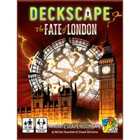 Deckscape The Fate of London Kortspill Escape Room i lommeformat