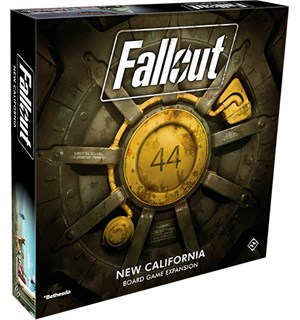 Fallout New California Expansion Utvidelse til Fallout Board Game