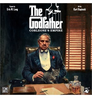Godfather The Board Game Brettspill Corleones Empire