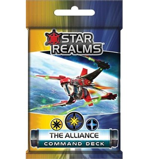 Star Realms The Alliance Expansion Command Deck til Star Realms