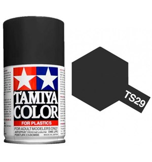 Tamiya Airspray TS-29 Semi Gloss Black Tamiya 85029 - 100ml