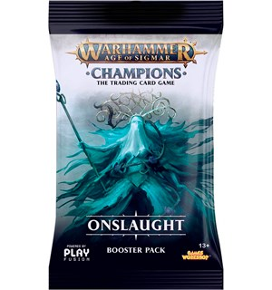 Age of Sigmar TCG Onslaught Booster Champions Trading Card Game - 13 kort