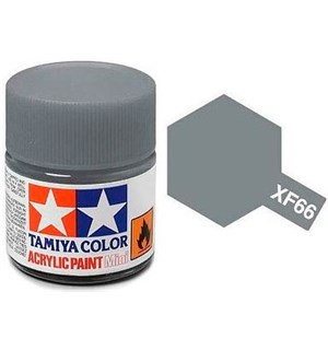 Akrylmaling MINI XF-66 Light Grey Tamiya 81766 - 10ml