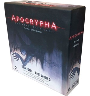 Apocrypha Adventure Card Game Kortspill Box One: The World