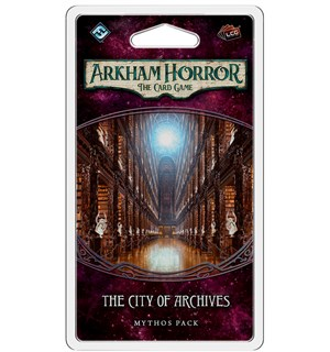 Arkham Horror TCG City of Archives Exp Utvidelse til Arkham Horror Card Game