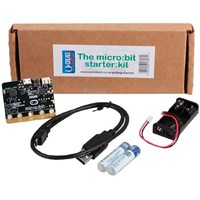 BBC micro:bit Starter Kit - microbit Inkl USB-kabel + batteri med holder