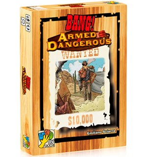 Bang Armed & Dangerous Expansion Utvidelse til Bang!