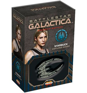 Battlestar Galactica Starbuck Raider Starship Battles Utvidelse - Captured
