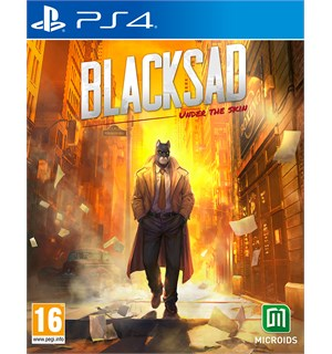 Blacksad Under the Skin LE PS4 Limited Edition