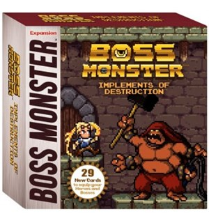 Boss Monster Implements of Destruction Utvidelse til Boss Monster Card Game