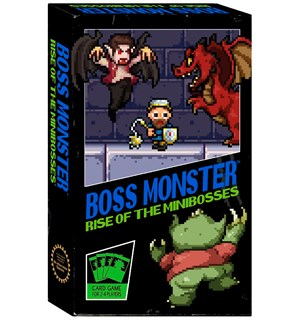 Boss Monster Rise of Minibosses Kortspi Frittstående spill i Boss Monster serien
