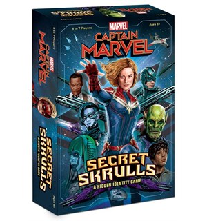 Captain Marvel Secret Skrulls Kortspill