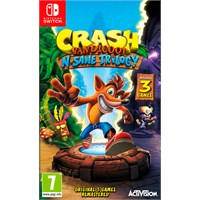 Crash Bandicoot N Sane Trilogy Switch