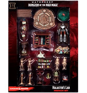 D&D Dungeon of Mad Mage Halasters Lab Waterdeep Premium Set