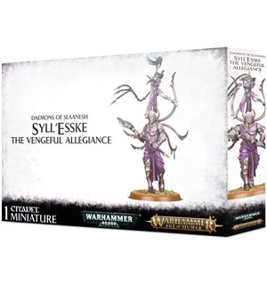 Daemons of Slaanesh SyllEsske Syll'Esske The Vengeful Allegiance