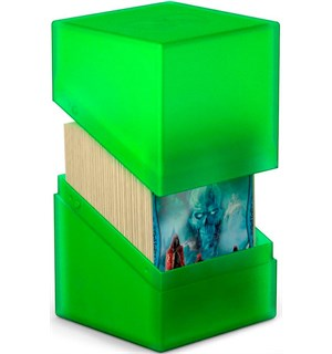 DeckBox Boulder 120 kort Emerald Samleboks Ultimate Guard 10 x 8 x 7,5 cm
