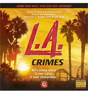 Detective LA Crimes Expansion Utvidelse til Detective