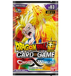 Dragon Ball SCG B03 Cross Worlds Super Card Game - Booster Pack 03