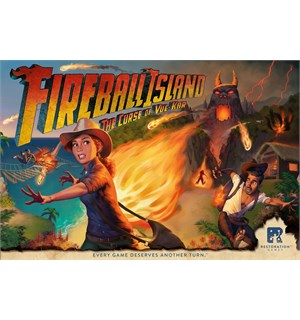 Fireball Island Brettspill The Curse of Vul-Kar