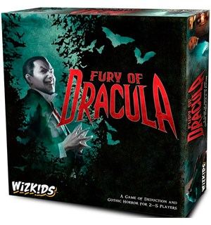 Fury of Dracula 4th Edition Brettspill