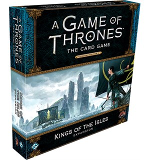 Game of Thrones TCG Kings of the Isles Utvidelse til Game of Thrones Card Game