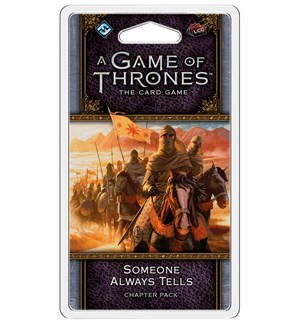 Game of Thrones TCG Someone Always Tells Utvidelse til Game of Thrones Card Game