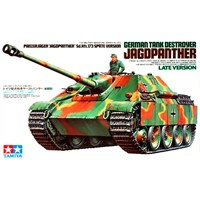 German Tank Destroyer Jagdpanther LateV Tamiya 1:35 Byggesett