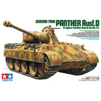 German Tank Panther Ausf D Tamiya 1:35 Byggesett
