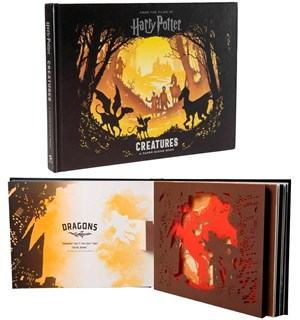 Harry Potter Creatures Pop Up 3D Bok
