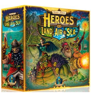 Heroes of Land Air Sea Brettspill