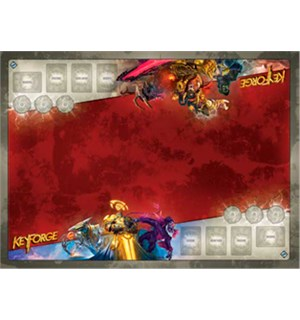 KeyForge Playmat Architects Vault 91x66 Spillmatte for 2 spillere til KeyForge