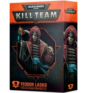 Kill Team Commander Feodor Lasko Warhammer 40K