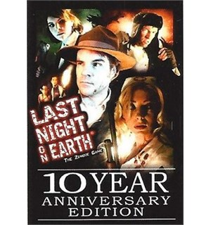 Last Night on Earth 10th Ann Brettspill 10th Anniversary Edition