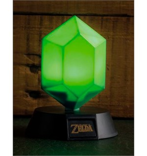 Legend of Zelda 3D Lampe Green Rupee