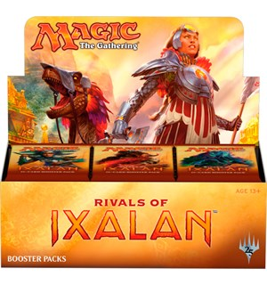 Magic Rivals of Ixalan Display 36 pakker á 15 kort per pakke