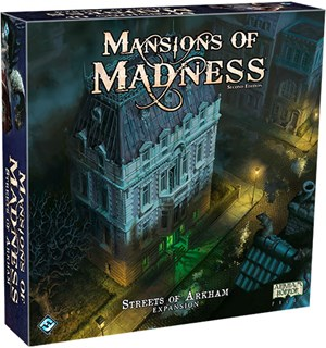 Mansions of Madness Streets of Arkham Utvidelse til Mansions of Madness