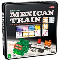 Mexican Train Domino Original Brettspill Ny! 2017 utgave i metallboks