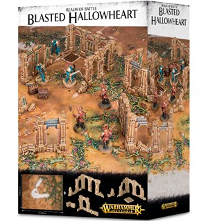 Realm of Battle Blasted Hallowheart Warhammer Age of Sigmar