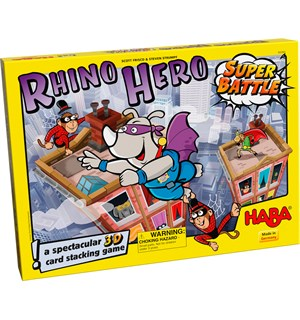 Rhino Hero Super Battle Brettspill