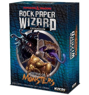 Rock Paper Wizard Fistful of Monsters Utvidelse til Rock Paper Wizard